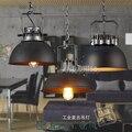 2016 America Industrial Vintage Pendant Light Edison Hanging Lamp For Cafe Room Restaurant Bar 110-220V E27 YGBS-07