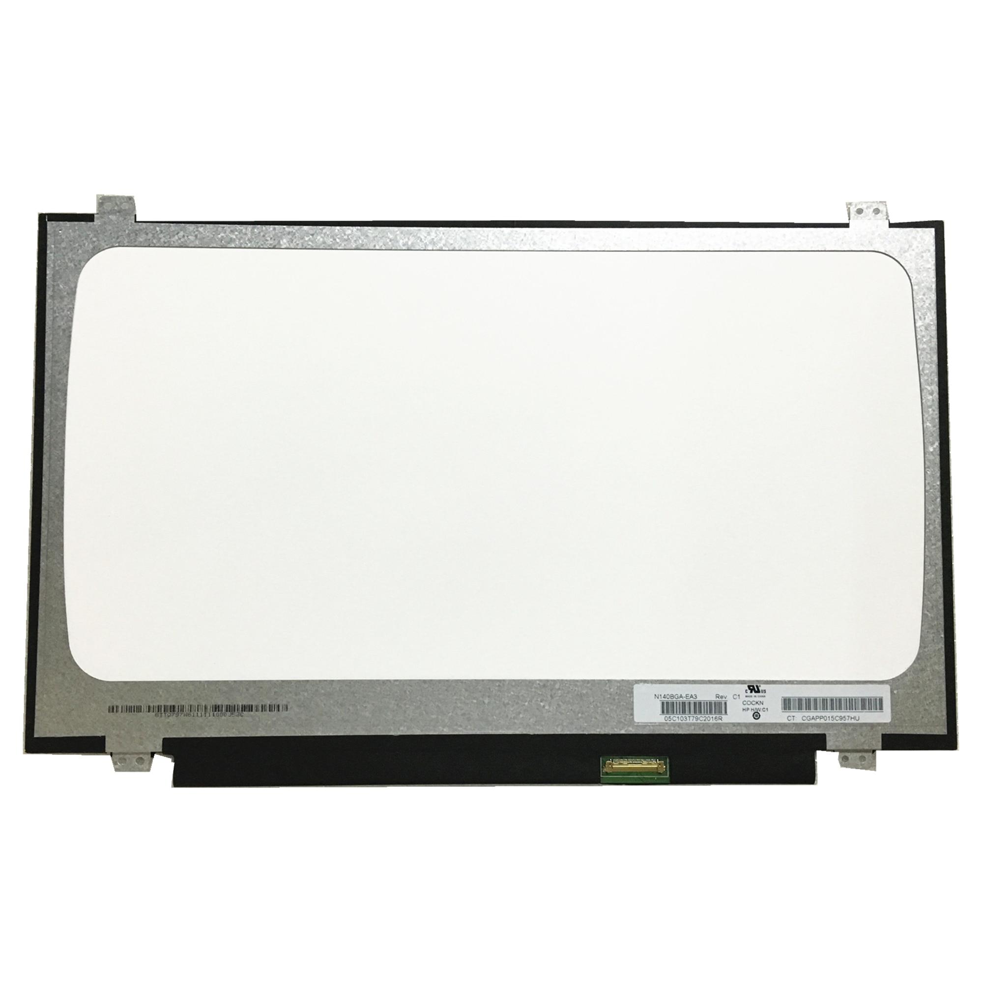 Free Shipping N140BGA EA3 N140BGA-EA3 N140BGE-EA3 N140BGA EA4 N140BGE E33 HB140WX1-601 Laptop LCD Screen 1366*768 EDP 30pin