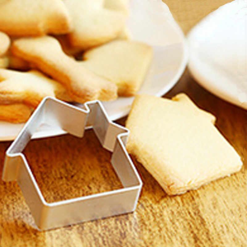 Bebê Miúdo Cozinha DIY Biscoitos Anel Mousse Molde Do Bolo Dos Desenhos Animados Molde de Cozimento Ferramentas Bolo Cozinha Confeitaria Molde Sabão