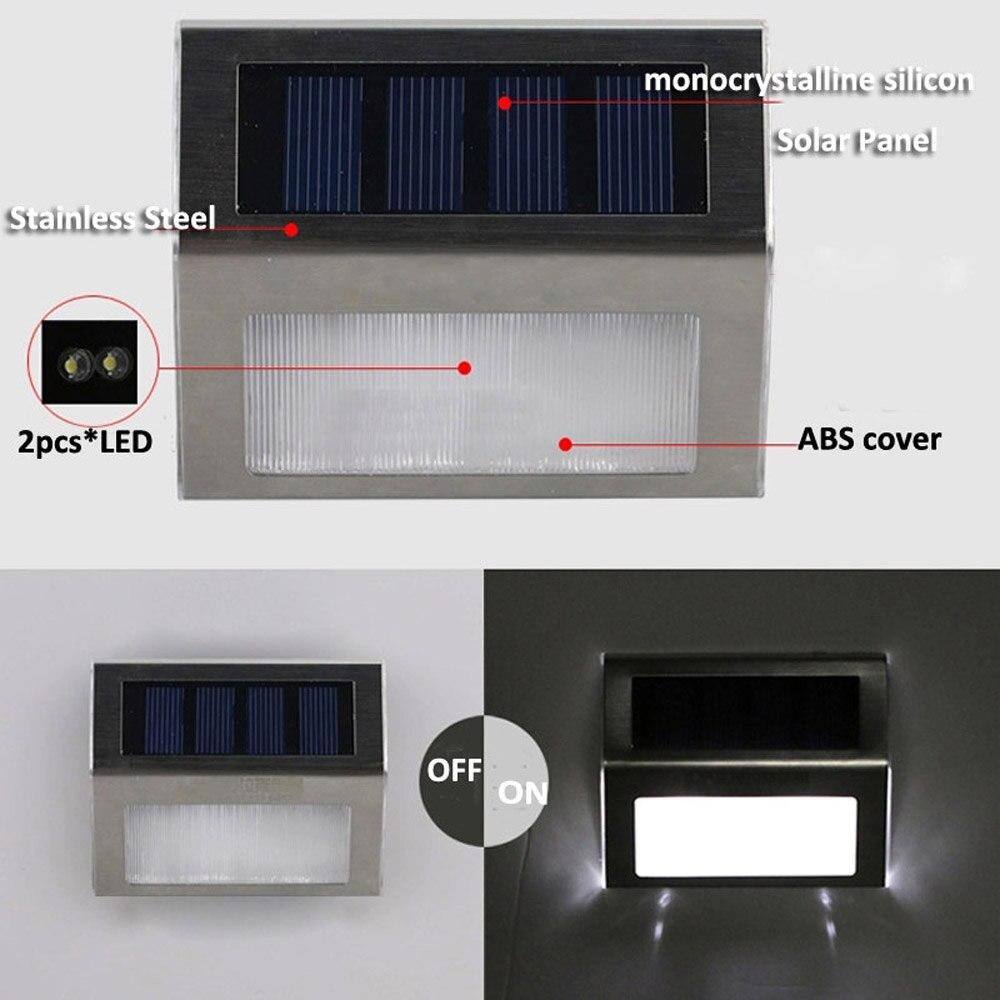 Lâmpadas Solares lâmpada de parede ao ar Usage 5 : Solar Lamp Motion Sensor