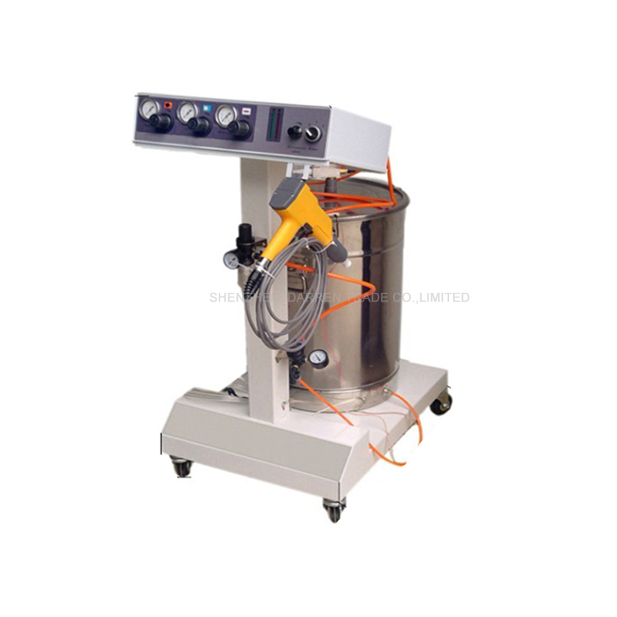 1pcs 110/220V Electrostatic Powder Coating machine with electrostatic powder coating gun WX-001 electrostatic powder coating machine wx 958 electrostatic spray powder coating machine spraying gun paint ac 110v 220v