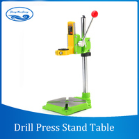 Electric power Drill Press Stand Table for Drill Workbench Repair Tool Clamp for Drilling,Collet Table 35&43mm 0 90 degrees