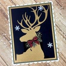 Eastshape Animals Die Metal Cutting Deer Frame Craft Dies Stencil for DIY Scrapbooking Decor Paper Album Card Making New 2019