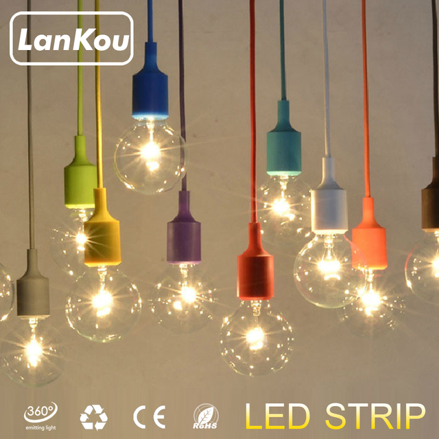 18 Farben Pendelleuchten Silikagel Moderne Ikea Kuche Lampe Lamparas