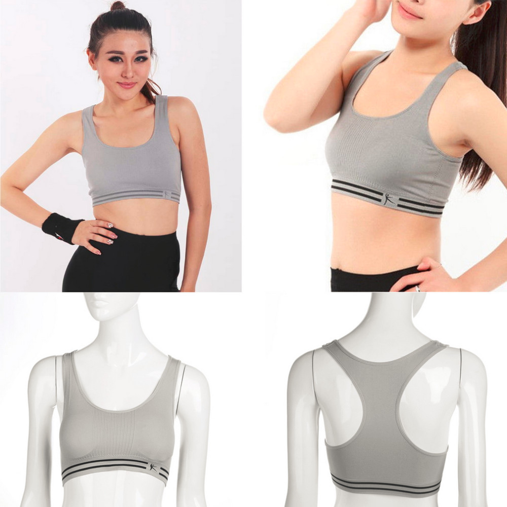 Women Stretch Athletic Fitness Sports Bra