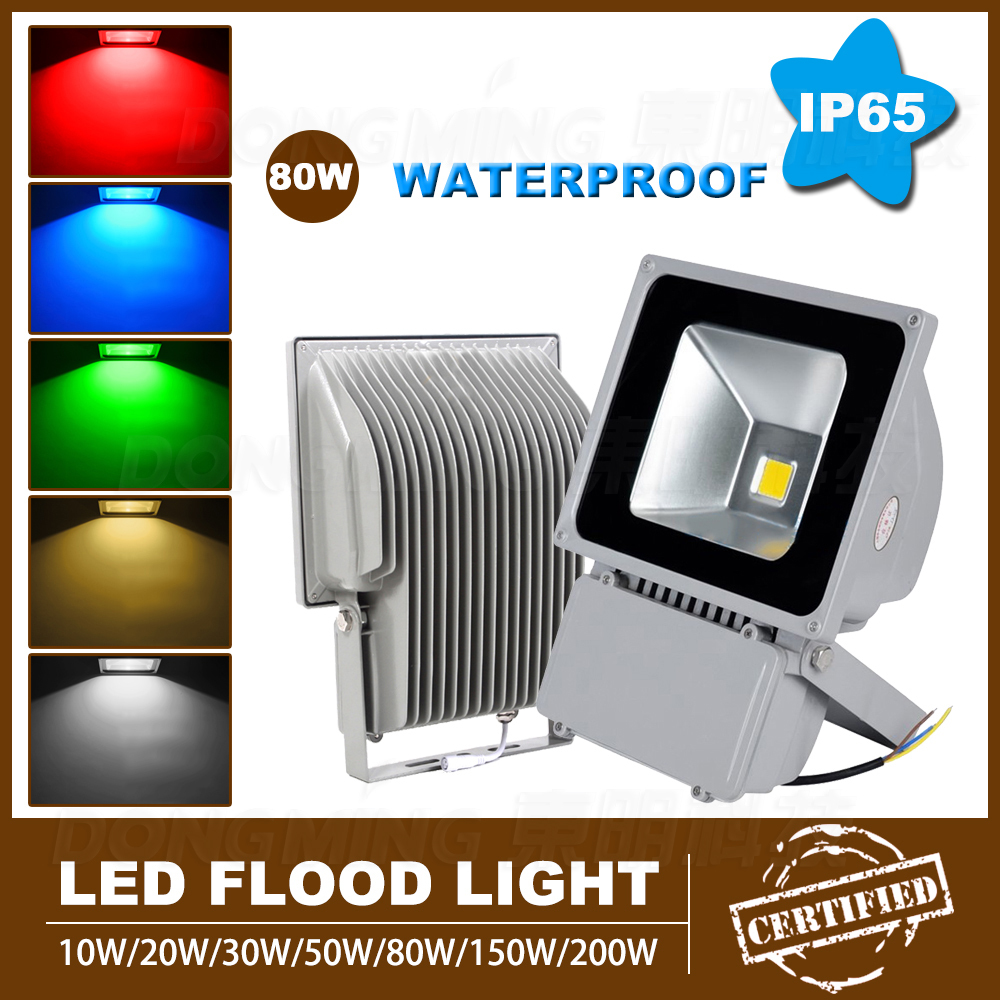 Aliexpress.com : Buy 80W Led Flood Light Rgb Wedding Garden Lights  Waterproof LED Color Changing Spotlight Outdoor Lighting Led Reflector From  Reliable Led ...