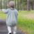 2016 Otoño Bebé Mono de Punto Niña Suéter Cuerpo Trajes Kids Todder Chica Mono Del Mono de la Ropa Infantil de Invierno