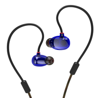 New KZ ZS2 In Ear Earphone Dual Driver Hifi Auriculares Earpiece Original KZ ZS2 Headset Bass