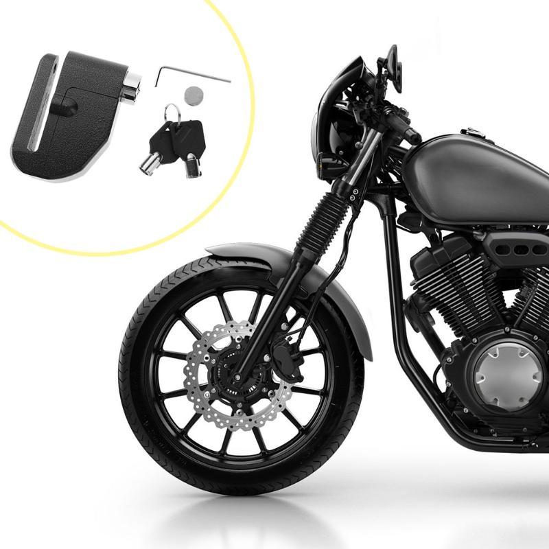 Universal Disc Brake Motorcycle Lock Loud Alarm Anti-Theft Security Lock Motorbike Scooter Disc Brake Safety Lock Equipment New