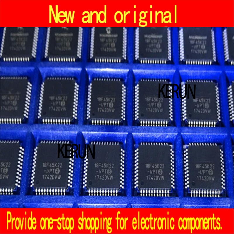 original 50PCS LOT PIC18F45K22 I PT PIC18F45K22 18F45K22 QFP44 New original chip IC FREE SHIPPING