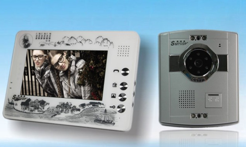 7 Inch Color TFT Monitor Intercom Video Door Phone