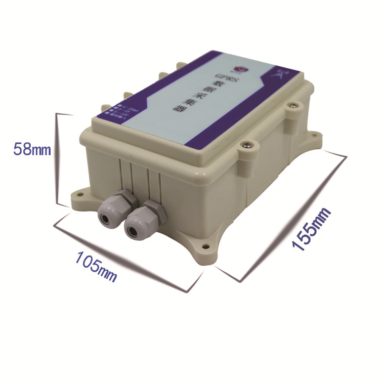 GPRS Wireless Collector Agricultural For IoT Temperature Humidity Carbon Dioxide Water-proof Analog Quantity Acquisition Module