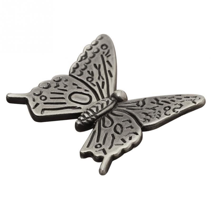 10pcs Handle Pull Knob Furniture Door Cupboard Drawer Cabinet Handles Vintage Butterfly Pull Handles Home Decoration 1pc furniture handles vintage butterfly cabinet knobs and handles ceramic door knob cupboard dresser drawer kitchen pull handle