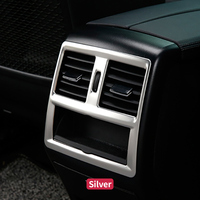 For Mercedes Benz ML GL GLE W166 Coupe C292 Car Styling Car Rear Air Condition Frame Cover Trim Sticker Interior Decorative