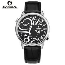 Relogio feminino relojes de marca de lujo mujeres moda casual zona horaria múltiple cuarzo reloj de CASIMA impermeable #2602