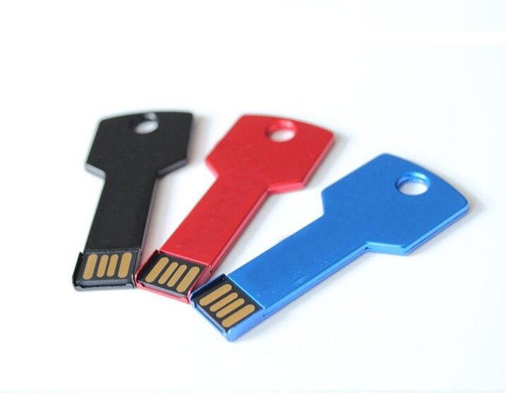 Metal Key USB Flash Drive512GB 128GB  64GB 32GB 16GB 8GB 4GB Pen drive Memory Stick U Disk Thumb Drive Pen Drives Pendrive