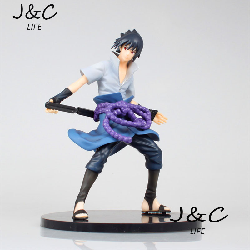 Free Shipping Japanese Anime Cartoon Naruto 1PCS 20cm Uchiha Sasuke action figure toys For Gift and Christmas toy japanese anime figures 23 cm anime gem naruto hatake kakashi pvc collectible figure toys classic toys for boys free shipping
