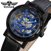New Design Watches Men Factory Shop Top Quality leather strap Men Wristwatch Free Shipping WRG8008M3B3