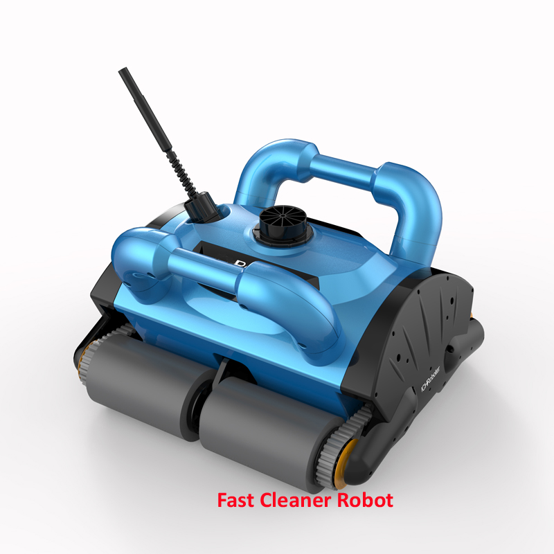 Deep Blue Robot Swimming Pool Cleaner iCleaner 200 With 15m Cable and Caddy Cart For Big Pool Automatic Cleaner Pool Cleaner
