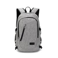 Multifunction USB Charging Men 16inch Laptop Backpacks For Teenager Fashion Male Mochila Leisure Travel Backpack Anti