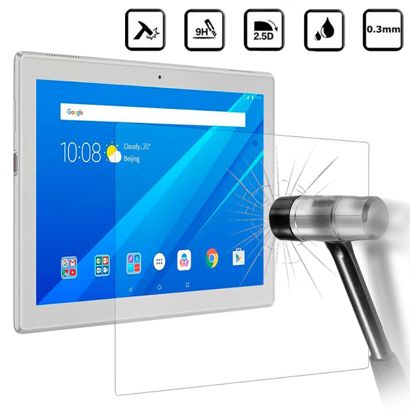 Tempered Glass For Lenovo TAB 4 10 Plus TB-X704 TB-X304F Screen Protector For Lenovo TAB4 4 8 Plus TB-8704 TB-8504 Tablet Glass tempered glass 2 5d screen protector for lenovo k5 note transparent