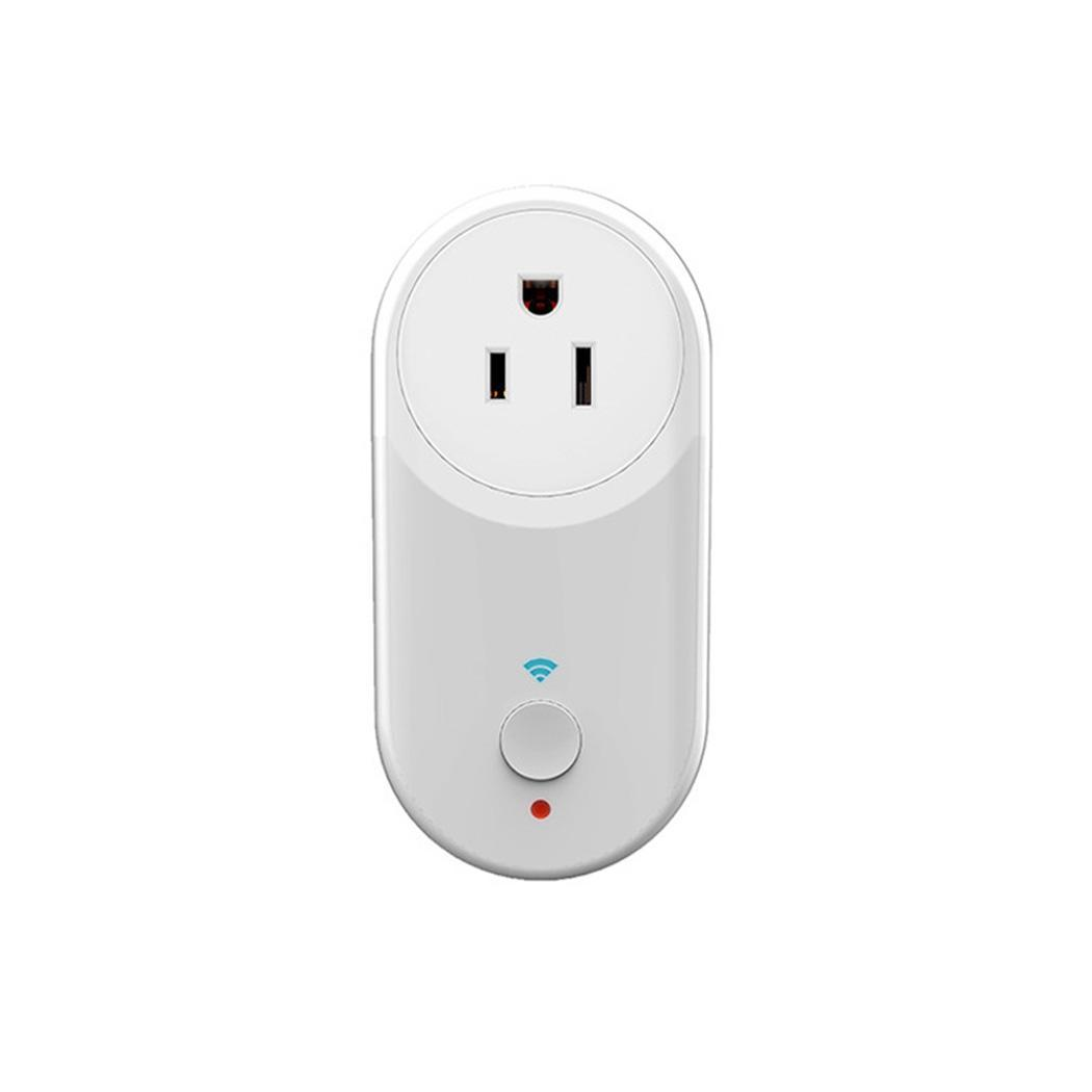 Smart WiFi Plug Remote Control Timing 2000W control, easy operation Home App Socket Square US/UK/EUPlug 10A