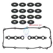 11121437395 11129070990 Болт с цилиндрической головкой прокладка клапанной крышки уплотнительное кольцо для головки блока цилиндров для BMW E46 320 323 325 328 330 M52 M54