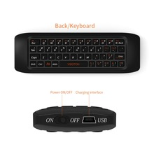 Wholesale 2.4G Fly Air Mouse Raspberry pi 3 Wireless Keyboard Remote control Learning keyboard Combo for Android Smart TV Box Computer
