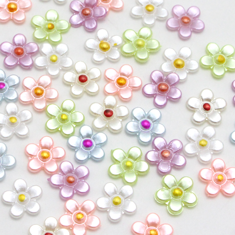 Lucia Crafts 12mm Imitated ABS  Half Round Pearls 48pcs F0312