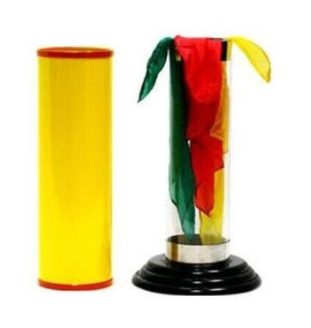 The Crystal Silk Cylinder By Duane Laflin & Marty Hahne - Magic Tricks
