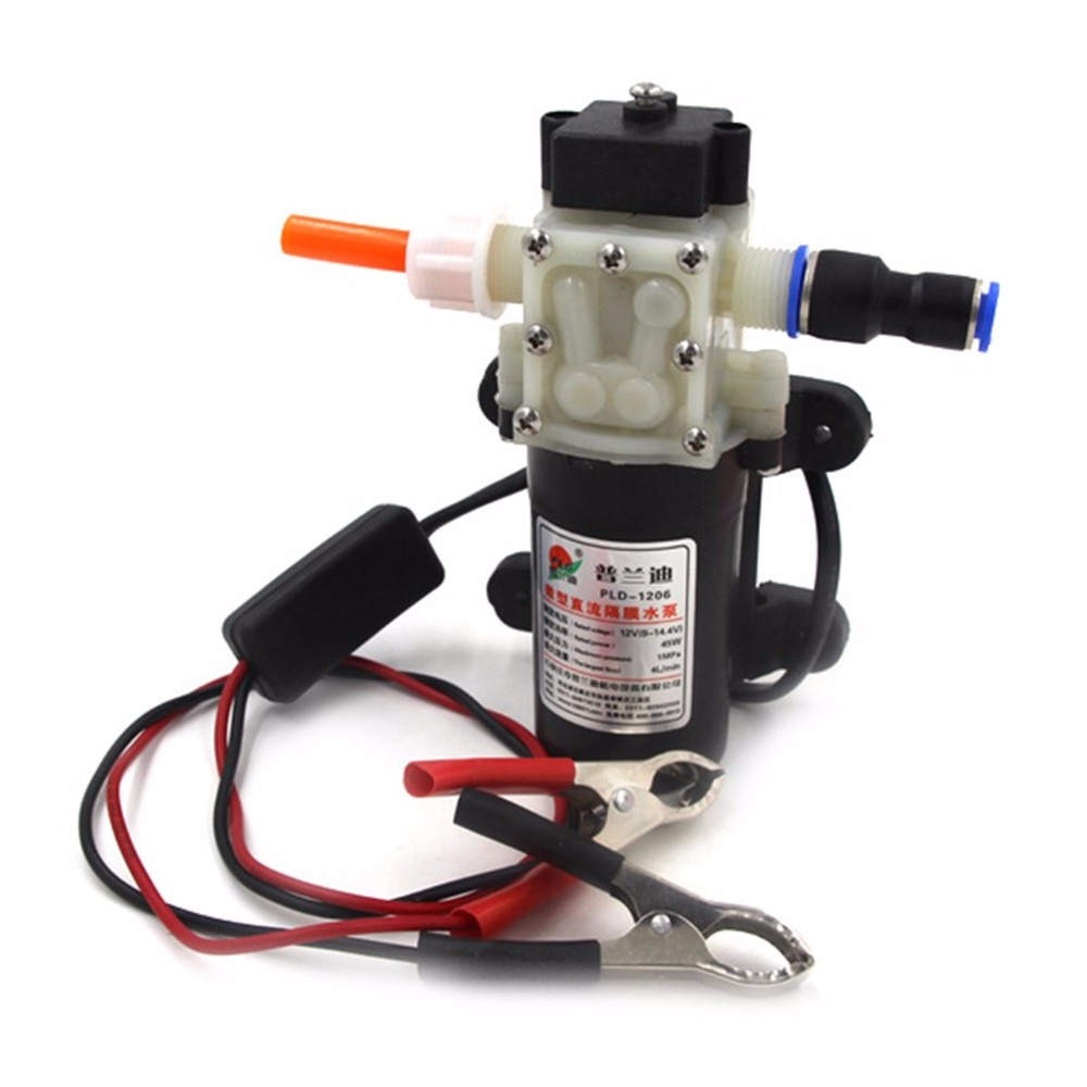 New PROFESSIONAL Crocodie Clip DC 12V24V Engine Oil Extractor Change Pump Engine oil Diesel Suction Pump Extractor Transfer Set цена