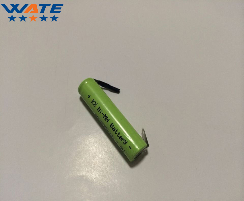 1.2V 800mAh Ni-MH battery Rechargeable with solder pads AAA