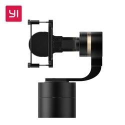يي يده Gimbal ل 4k عمل كاميرا 3-محور عموم/إمالة/لفة تعديل يدوي 320 درجة المدمجة والضوء