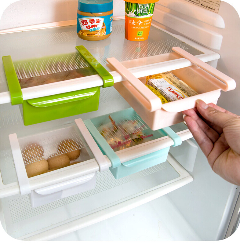 refrigerator racks. aliexpress.com : buy refrigerator organizer rack egg storage basket snacks box kitchen shelves from reliable shelf suppliers on racks