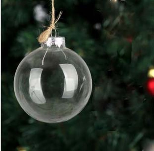 Christmas Ornaments Clear Glass : Popular clear glass christmas ornament buy cheap
