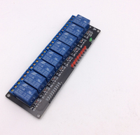 8 Road/Channel Relay Module Without Light Coupling for Arduino