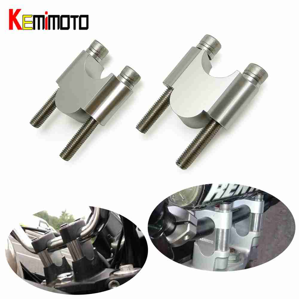 7/8 22mm Guidon riser guidon riser adaptateur Moto guidon riser clamp Pour Honda TRX450 MT07 Z900 ATV gsxr 750 600