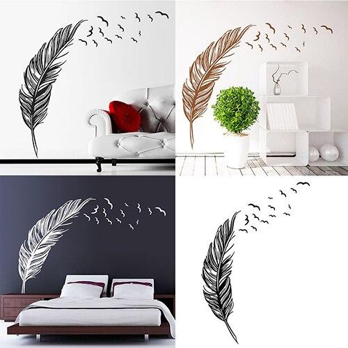 24 Creative Bedroom Wall Decor Ideas: Creative DIY Home Bedroom Office Wall Decor Removable