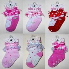 New style Cotton Children Socks 20pair=40 piece, non-slip Girl/boy Socks,Super Quality Kids/baby knee socks