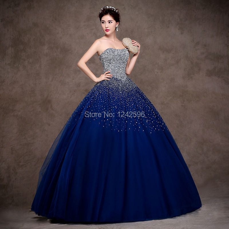 High-Quality-Beading-Sequins-Tulle-Ball-Gown-Quinceanera-Dresses-2017-Floor-Length-vestidos-de-15-anos (2)