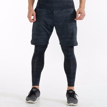 New arrive men's compression tights and shorts gym fitness quick-dry pants for running jogging breathable leggings for men