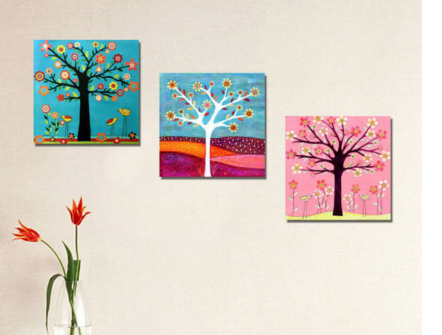 Free shipping decoration home modern Money tree print painting ...