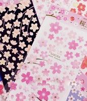 New Beautiful Sakura Sticker For Kids School Decoration Kawaii Sticker School Supplies Tt 1665