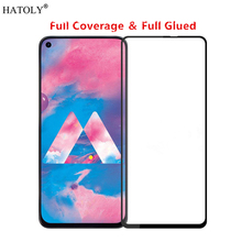 For Samsung Galaxy M40 Glass Tempered for Film 9H HD Full Glue Screen Protector