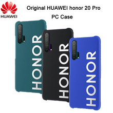 Original HUAWEI honor 20 Pro Case Plastic PC Hard Back Cover Protective Shell Capa Case for honor 20 PRO