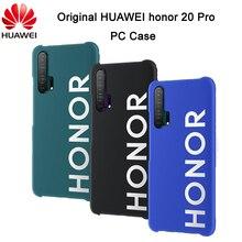 Original huawei honor 20 pro caso plástico pc capa dura capa protetora capa para honra 20 pro