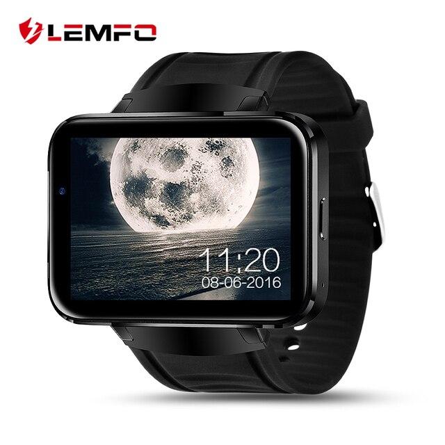 LEM4 Bluetooth Smart Watch Android Наручные Smartwatch MTK6572 Dual Core Wifi GPS Карта с 0.3mp камеры