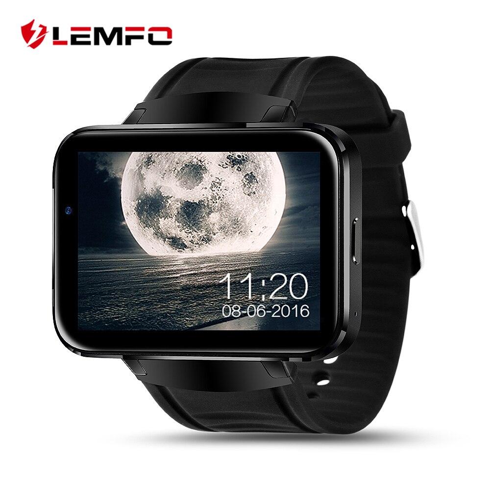 LEM4 Bluetooth Smart Watch Android Wrist Smartwatch MTK6572 Dual Core Wifi GPS M