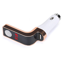 Car MP3 Audio Player With Remote Controller MP3 Player Wireless FM Transmitter Modulator Car Kit USB SD TF MMC LCD Remote Dec13