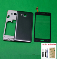 For Samsung Galaxy Grand Prime SM G531H G531H DS Housing Front Chassis Frame Battery Cover Touch